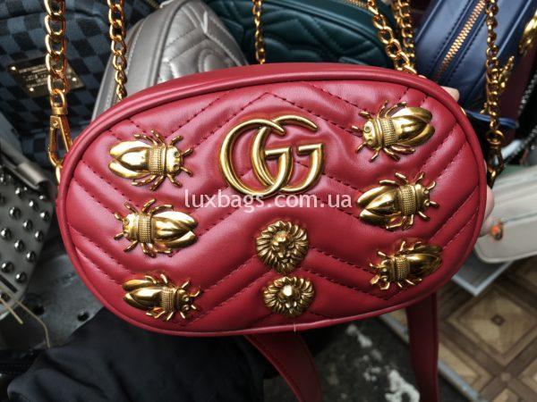 Женская поясная сумка Гуччи GUCCI