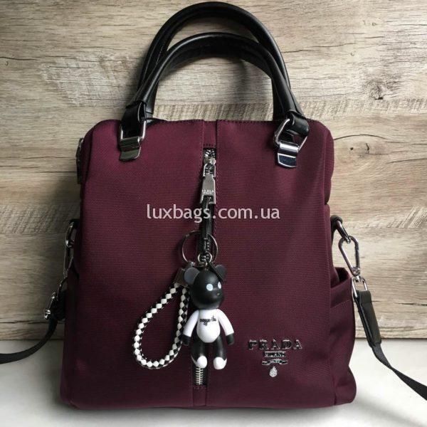 Женская сумка рюкзак Prada фото