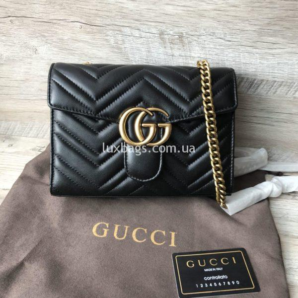 сумочка гуччи клатч модный