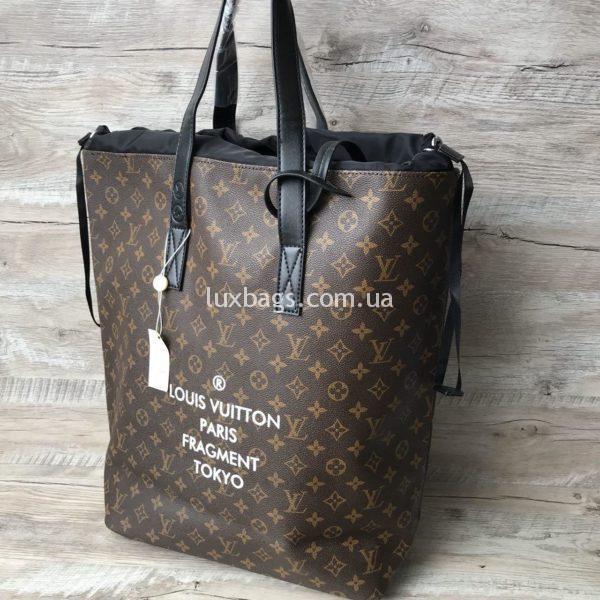 большая женская сумка от лучи витон шоппер фото