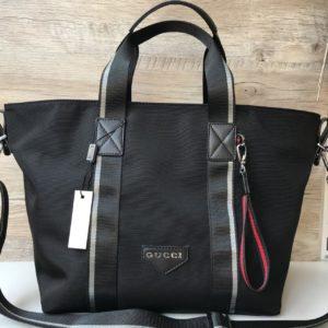 Женская спортивная сумка Gucci черная