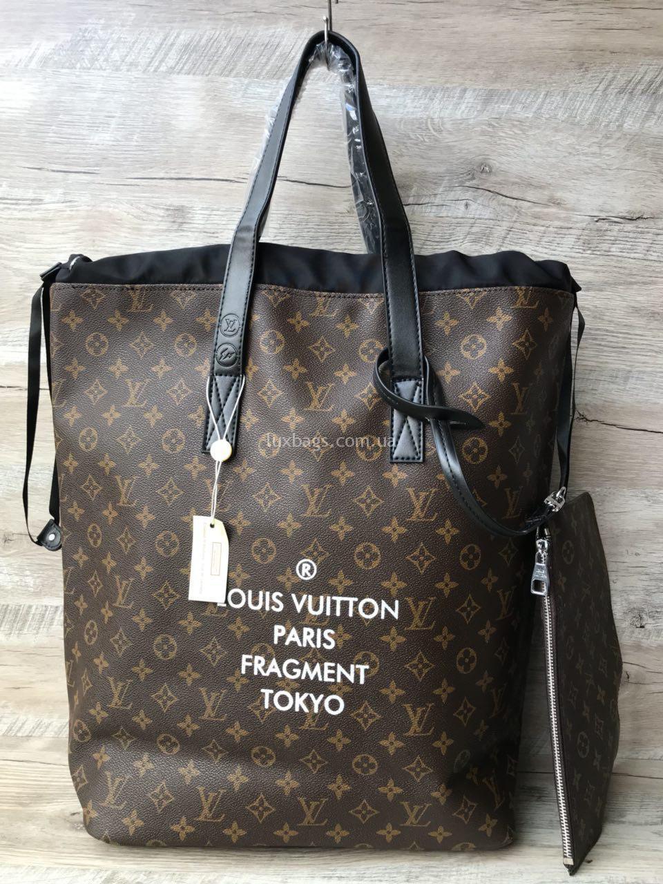377776e724c0 ... большая сумка шоппер Louis Vuitton. 🔍. реплика брендовой сумки