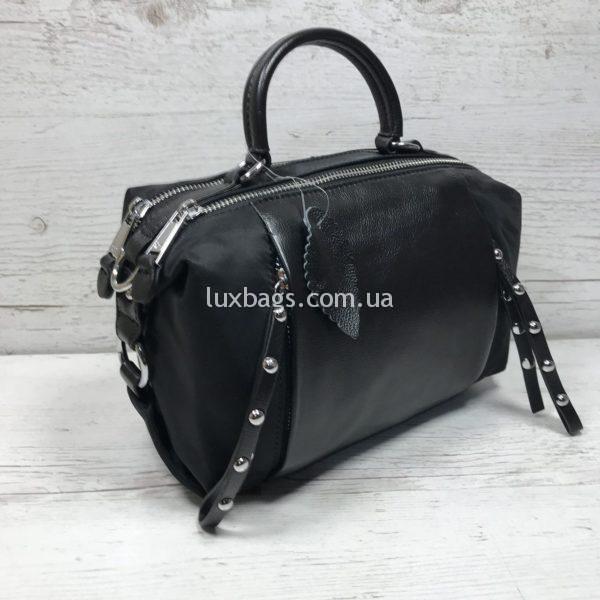 сумка саквояж кожаная небольших размеров