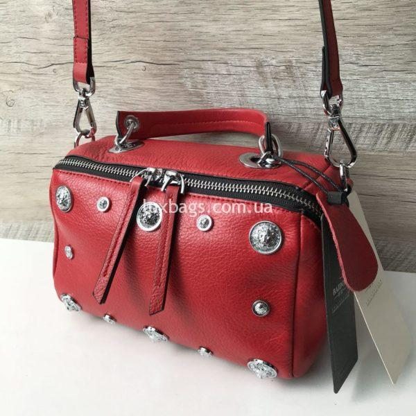 красная кожаная сумка купить