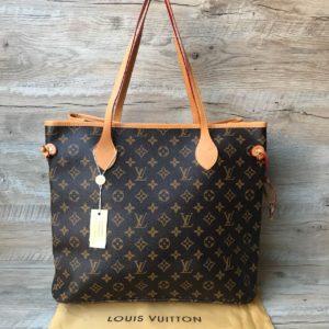 женская большая сумка Louis Vuitton канва