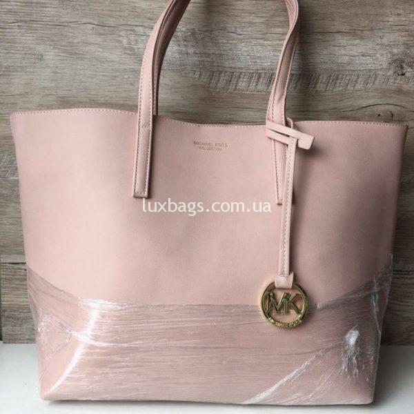 Женская сумка Шоппер Michael Kors розовая
