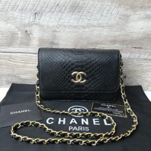 Женская сумочка-клатч Chanel черная