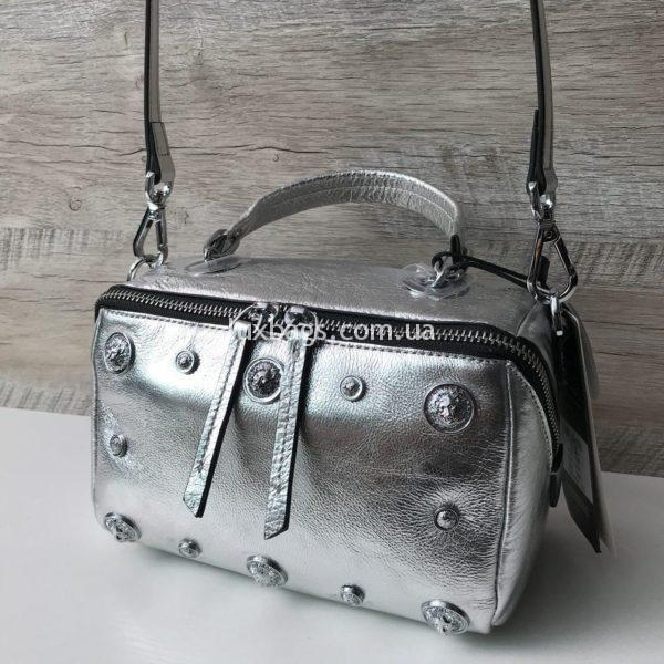 Женская стильная маленькая кожаная сумка