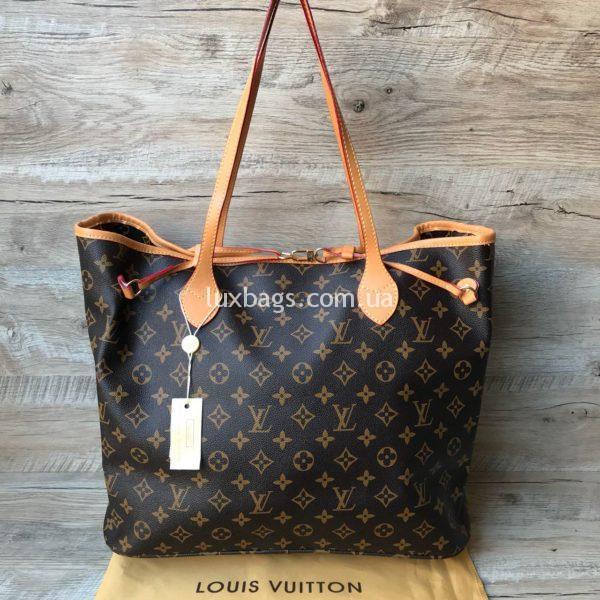 Женская большая крутая сумка Louis Vuitton
