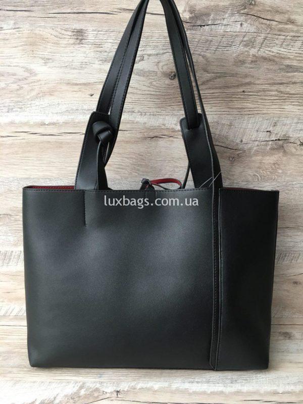 Женская большая сумка на плечо