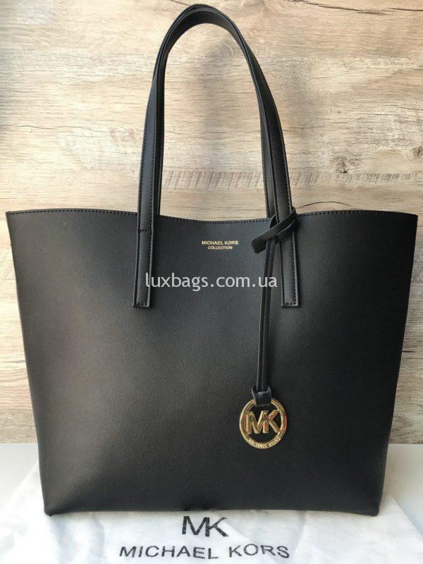 Женская сумка Шоппер Michael Kors черная