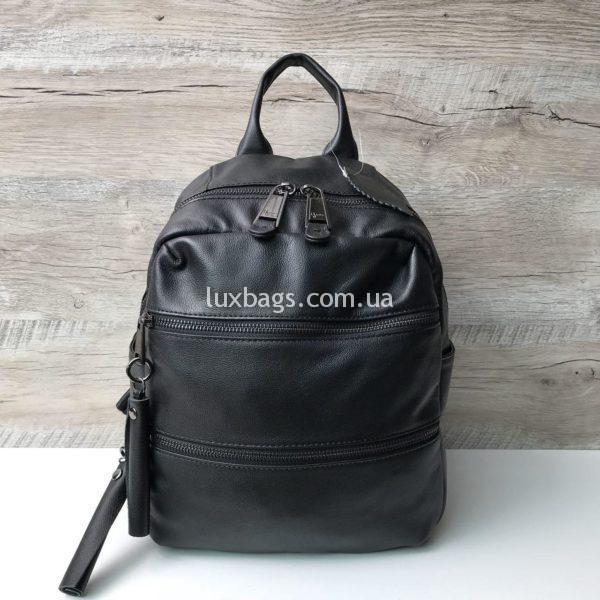 Женский кожаный рюкзак премиум класса фото