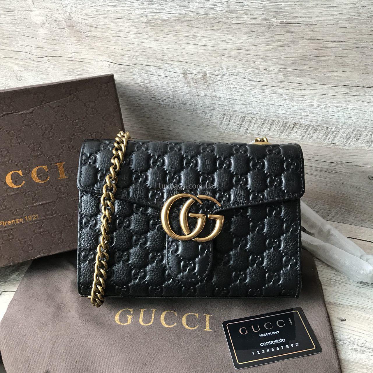 a40929f87011 сумка гуччи из кожи с тиснением · Женская сумка - клатч Gucci ...