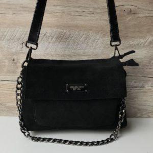 Замшевая сумочка Michael Kors черная