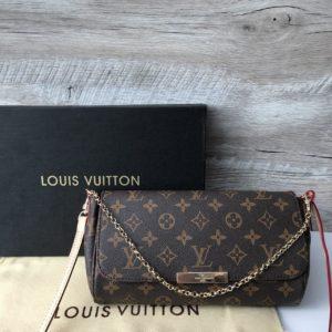 Женская сумка косметичка от луи витон
