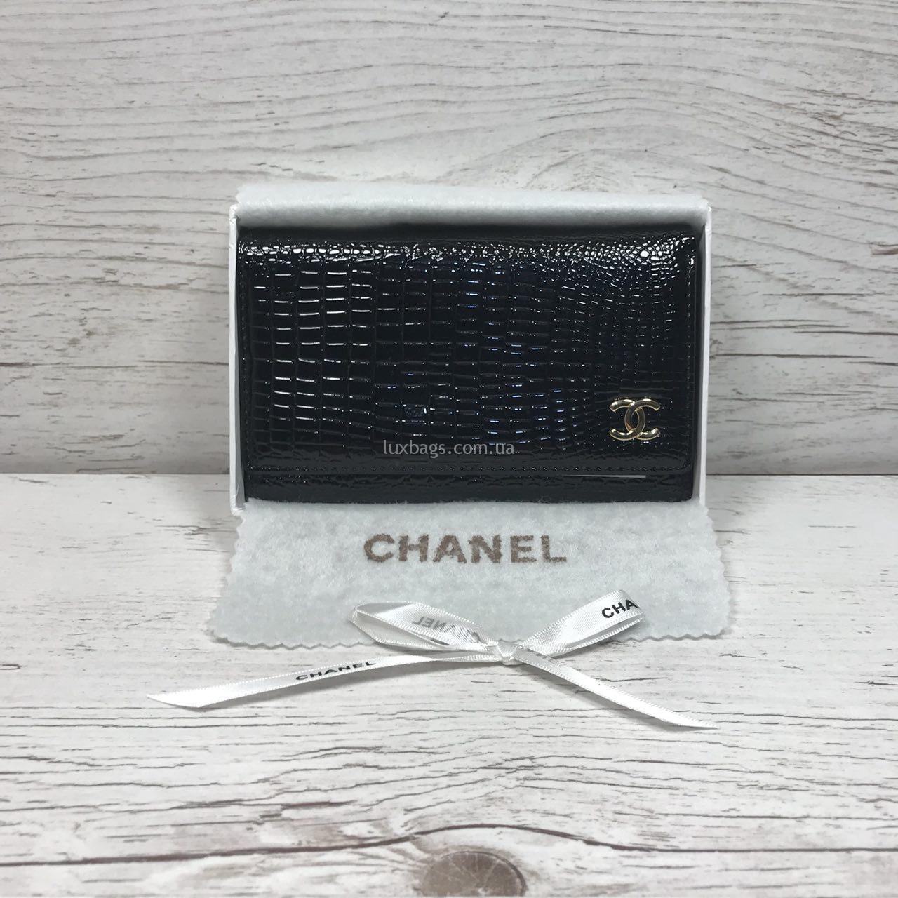 1c98401eac04 Купить Кожаный кошелёк Chanel (Шанель) в Украине Недорого