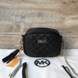 Женская сумка с шипами черная Michael Kors