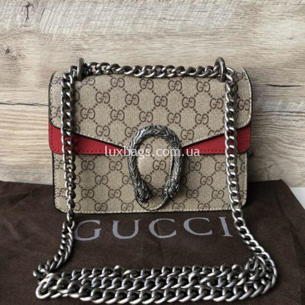 Женская сумка клатч Gucci Гуччи Dionysus крутая