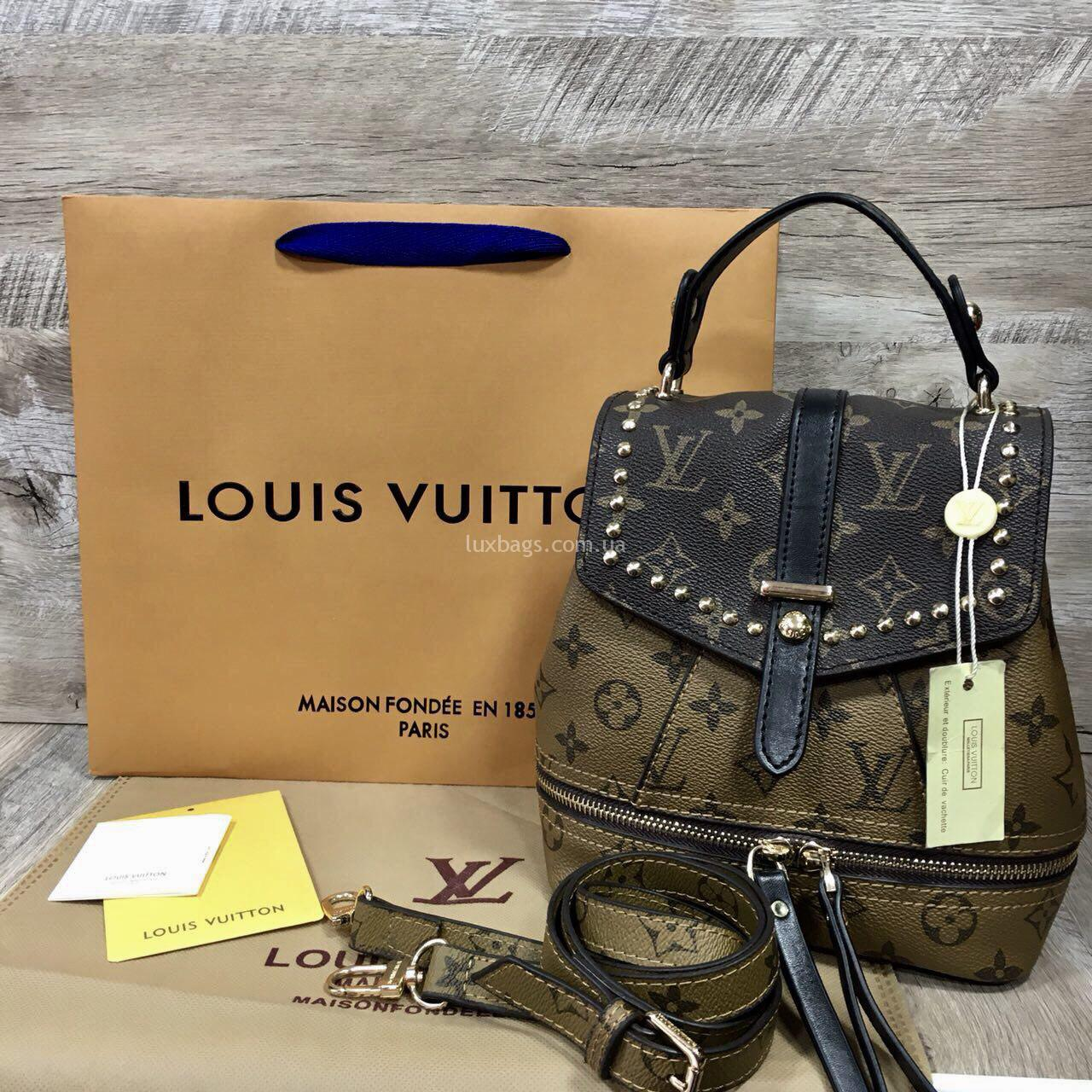 df0880e647f6 Купить Женский рюкзак сумка Louis Vuitton (Луи Витон)   Рюкзаки