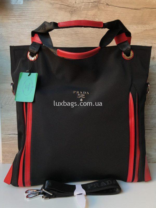 Большая женская сумка Prada прада фото 2
