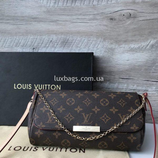 Женская сумка косметичка Louis Vuitton луи виттон