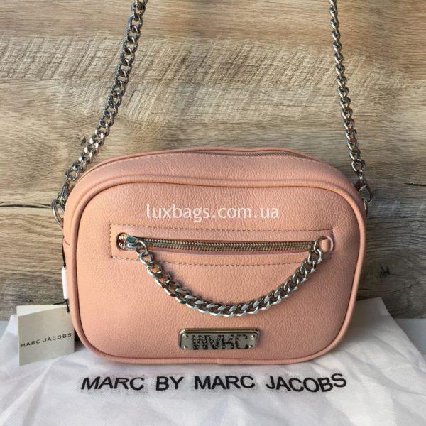 Женская модная сумка Marc Jacobs розовая