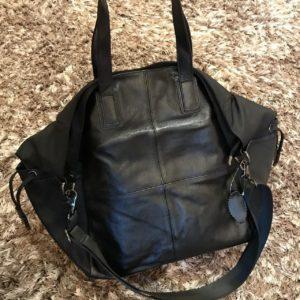 Женская большая спортивная сумка черная