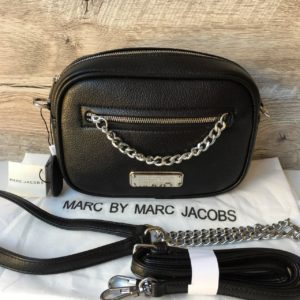 Женская модная сумка Marc Jacobs черная
