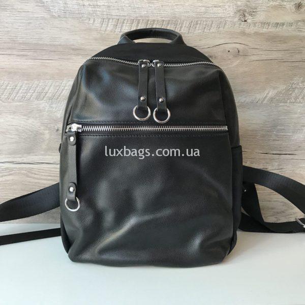 городской кожаный рюкзак женский купить