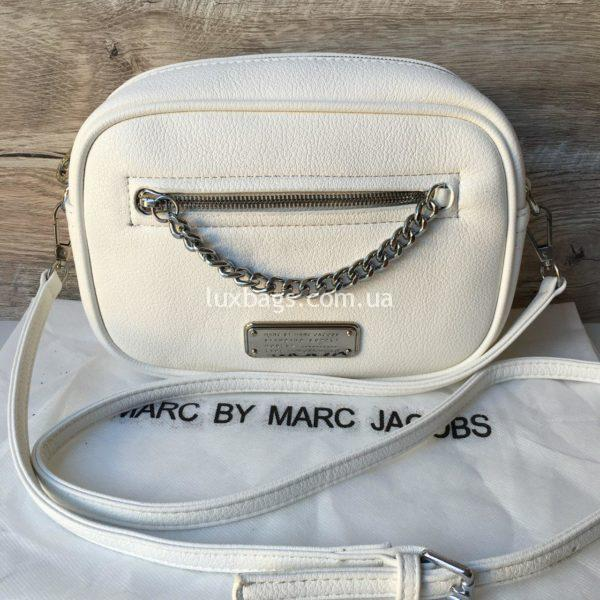 Женская модная сумка Marc Jacobs белая