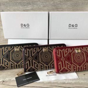 кожаные кошельки для женщин от Dolce&Gabbana