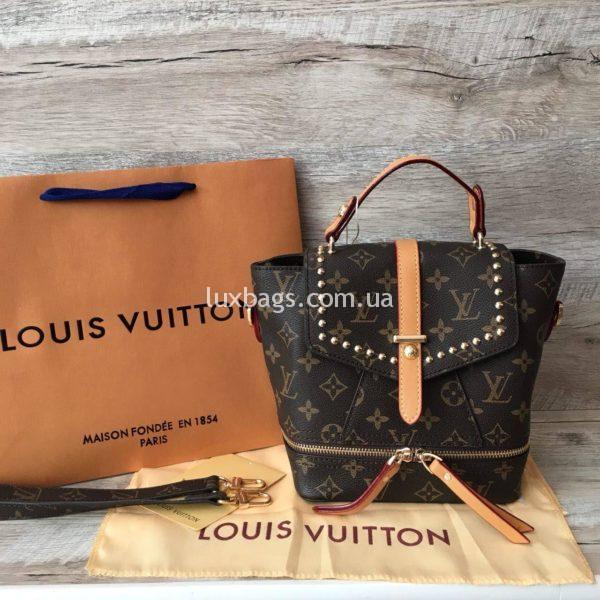 Женский модный рюкзак сумка Louis Vuitton
