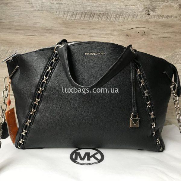 Женская черная сумка Michael Kors