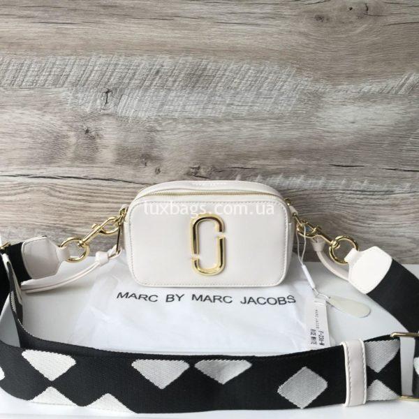 Женская сумка клатч Marc Jacobs белая