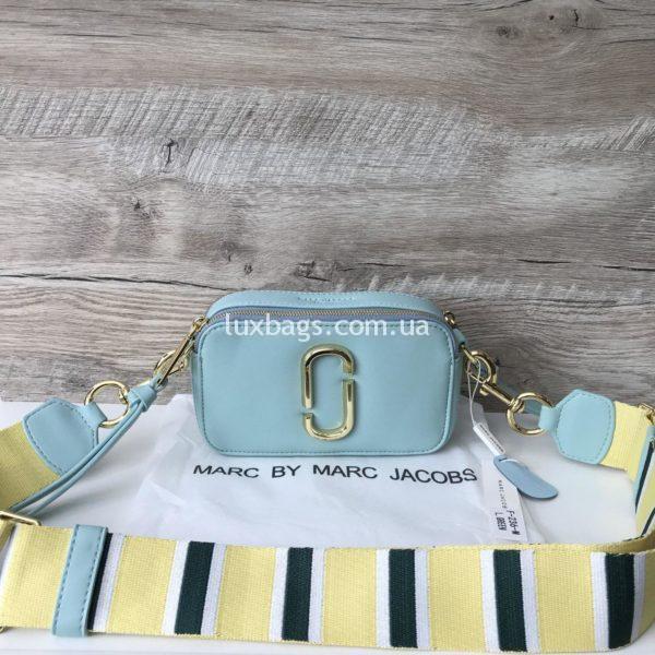 Женская сумка клатч Marc Jacobs голубая
