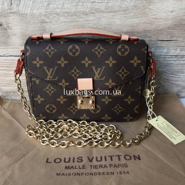 Женская сумка Louis Vuitton Metis mini