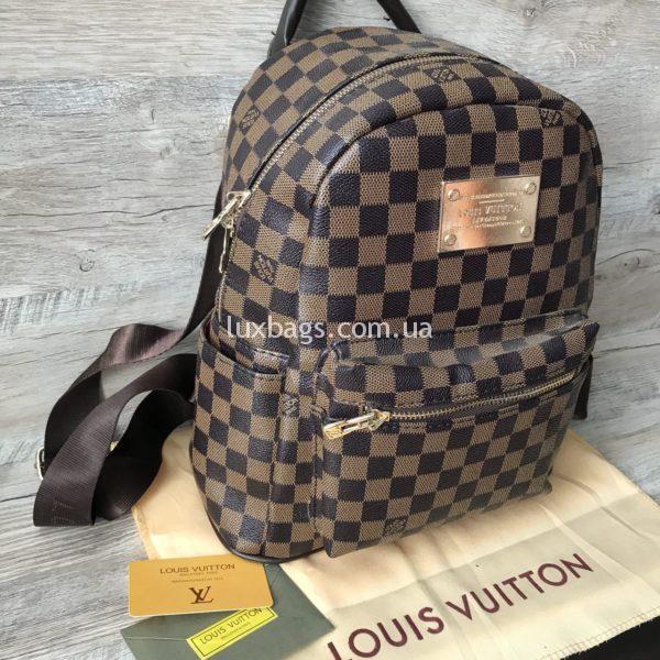 Женский рюкзак Louis Vuitton шашка