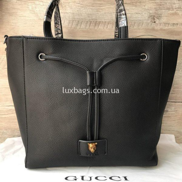Стильная женская сумка GUCCI черная