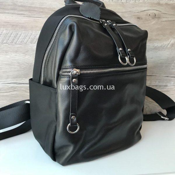 городской кожаный рюкзак женский недорого