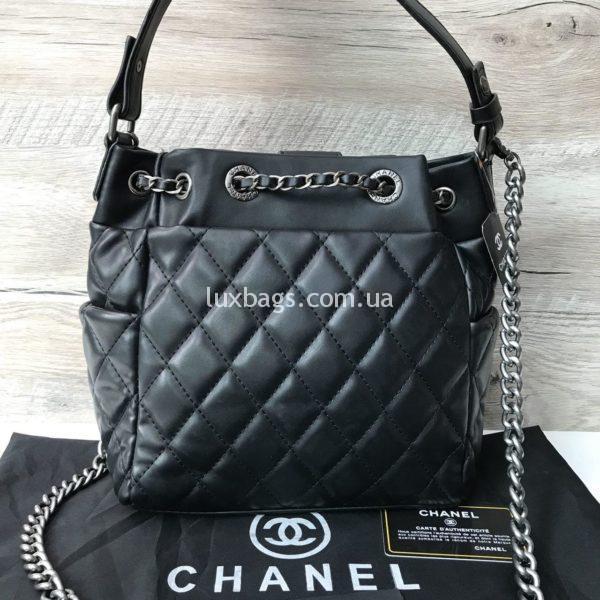 Женская сумка chanel мешочек