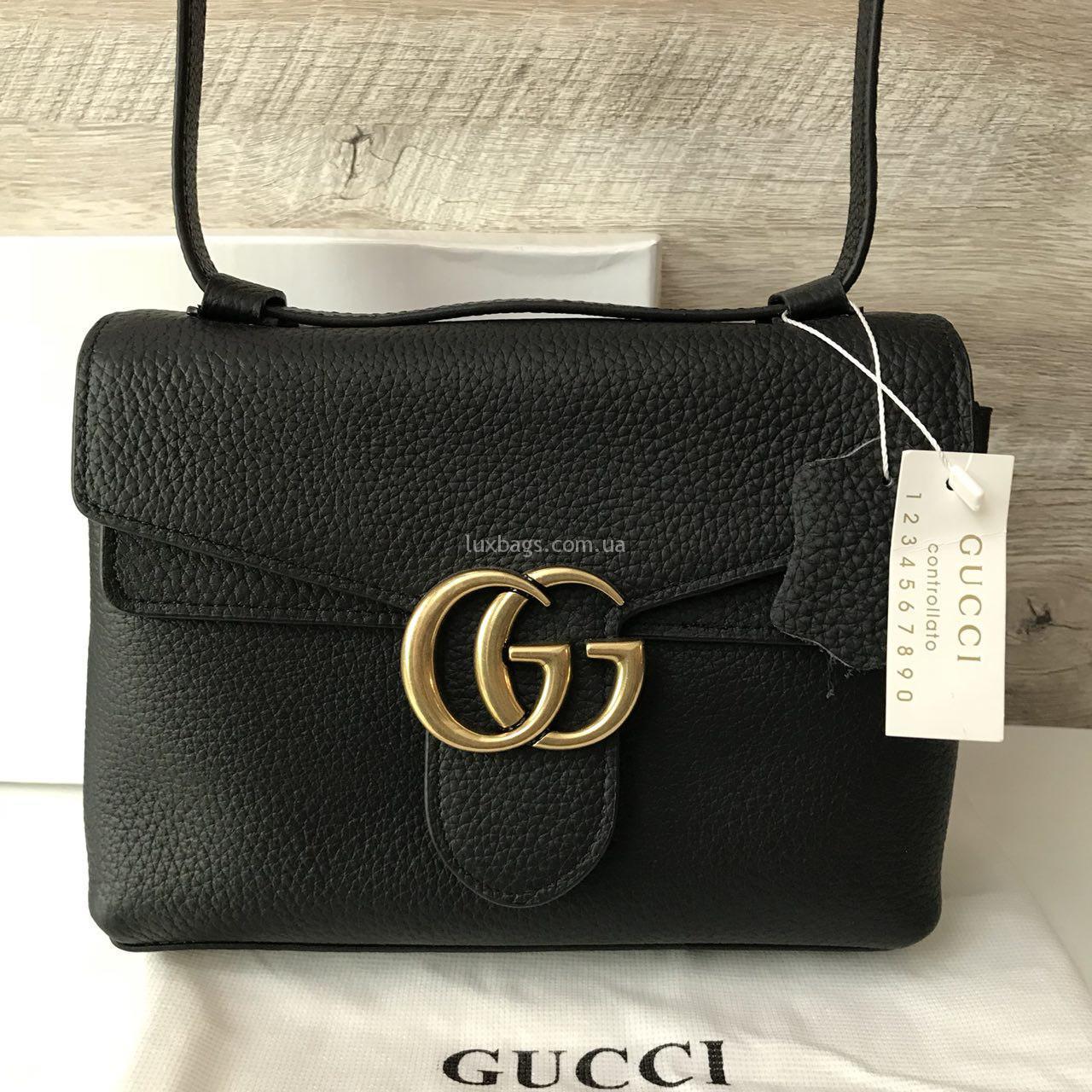 214fee536dd7 Женская кожаная сумка клатч Gucci Гуччи Купить на lux-bags