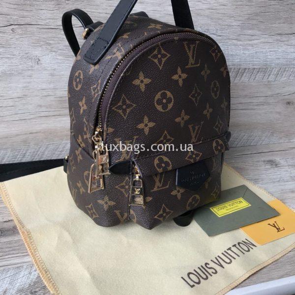 Женский мини рюкзак Louis Vuitton Луи Виттон фото 5