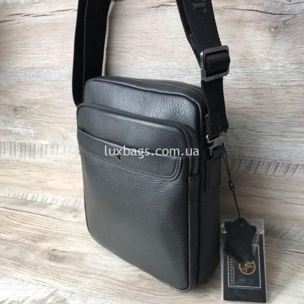 Фирменная мужская сумка H.T leather фото2