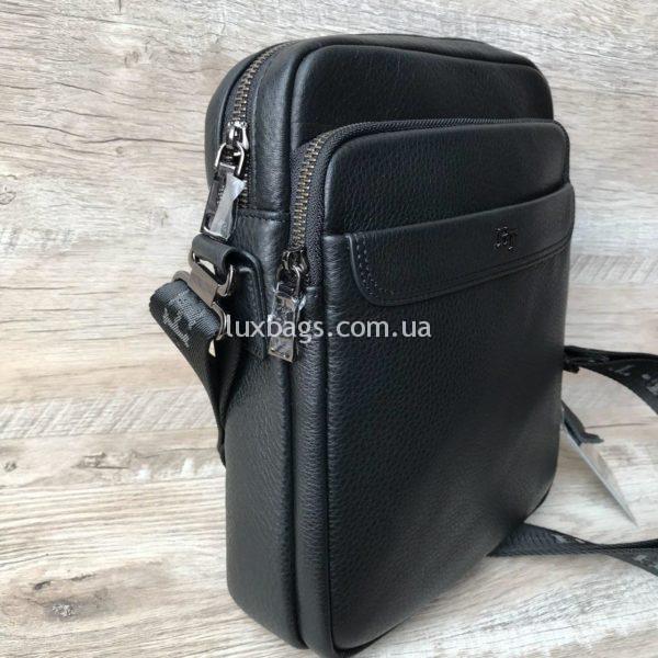 Фирменная мужская сумка H.T leather фото 1