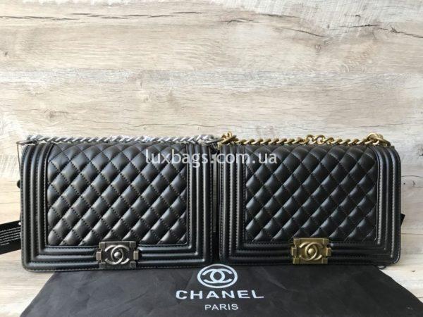 Женские сумочки Chanel Boy через плечо