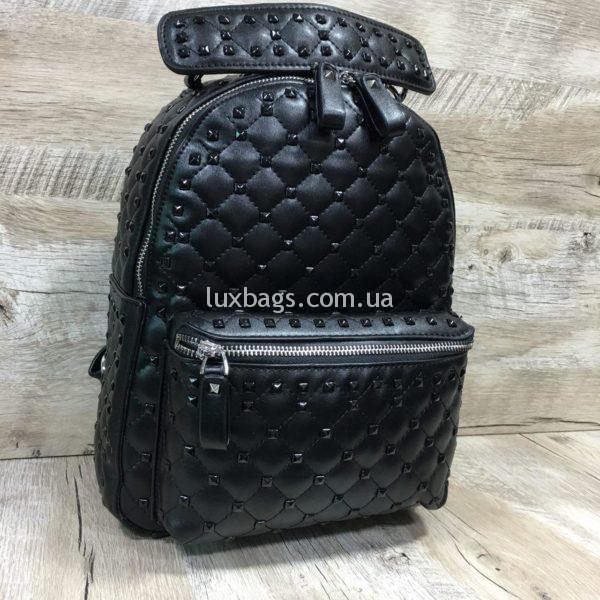 Женский рюкзак-сумка в стиле Valentino фото 7