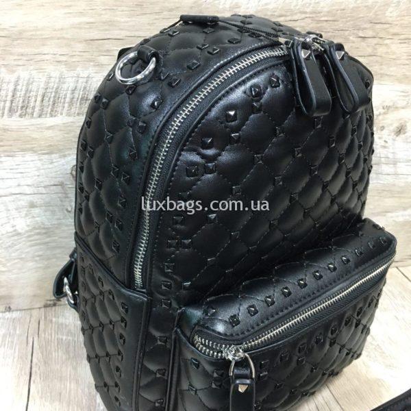 Женский рюкзак-сумка в стиле Valentino фото 6