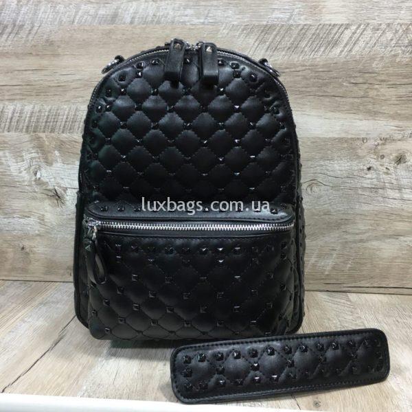 Женский рюкзак-сумка в стиле Valentino фото 4