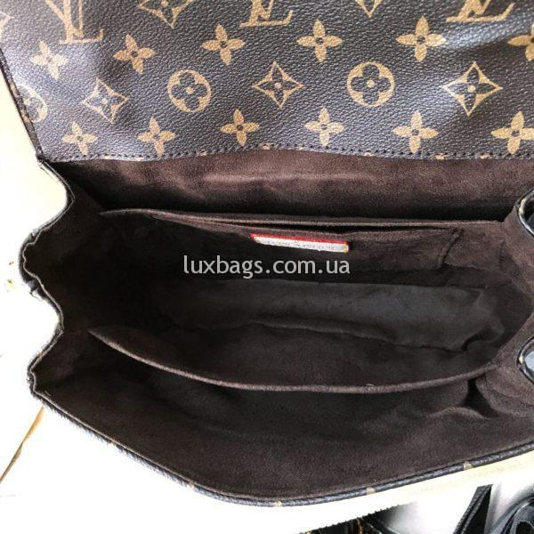 Женская сумка Louis Vuitton Pochette Metis monogram фото 6