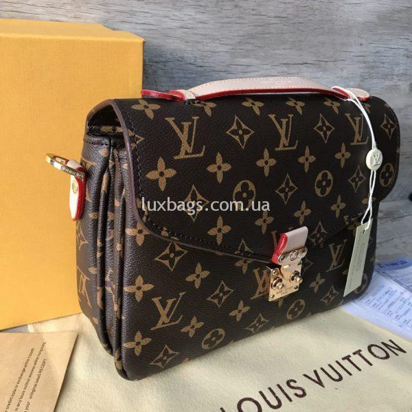 Женская сумка Louis Vuitton Pochette Metis monogram фото 2